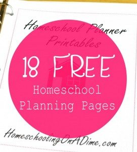 18-Free-Homeschool-Planning-Pages