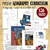 OVER – FREE Complete Geography Curriculum $30 Value – ends 5-16-14