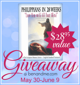 philippians in 28 weeks giveaway