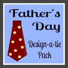 Design-a-tie-button