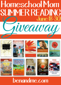 Homeschool Mom Summer Reading Giveaway