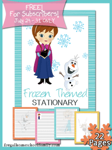 Frozen-Themed-Stationary-Sub-Freebie