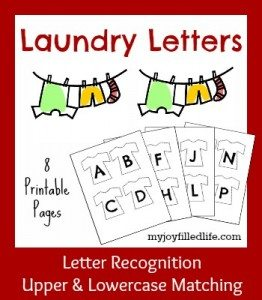 Laundry Letters graphic