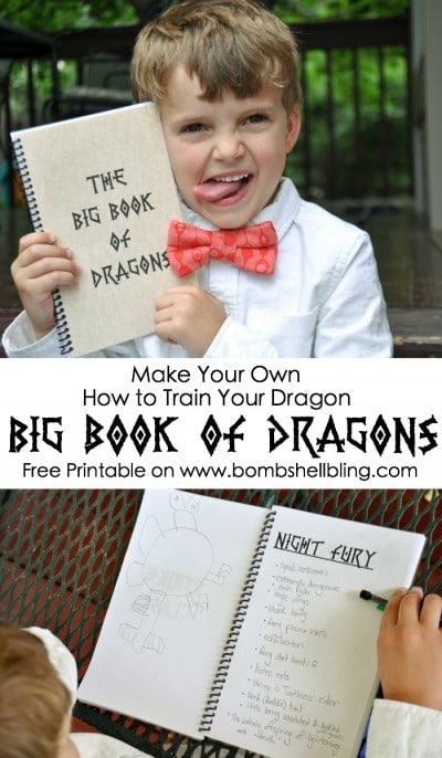Make-Your-Own-How-to-Train-Your-Dragon-Big-Book-of-Dragons-Free-Printable-on-Bombshell-Bling
