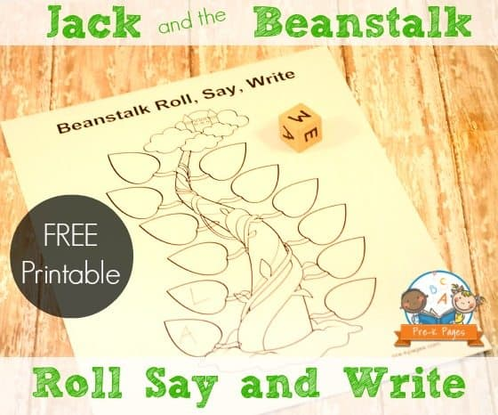 It is an image of Influential Jack and the Beanstalk Printable