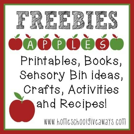 FREE Apples printables activities MORE