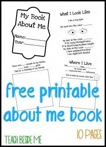 Free-Printable-About-Me-Book
