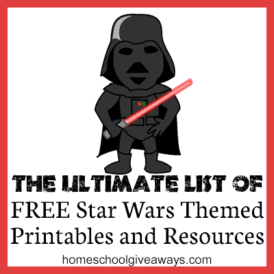 The Ultimate List of FREE Star Wars Themed Printables and ...