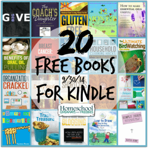 20 Free Books for Kindle 9.30.14