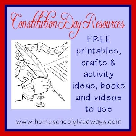 Make Constitution Day Sept 17th Come Alive With These Fun Printables Crafts