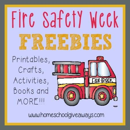 image about Free Printable Safety Posters called Hearth Protection 7 days Elements - Homeschool Giveaways