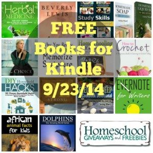 Free Books for Kindle 9.23.14