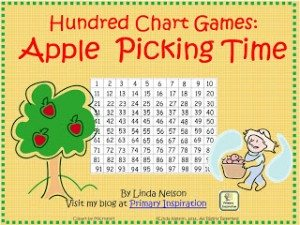 Hundre Chart Apples blog FREE cover