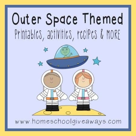 outer space themed free printables activities  more