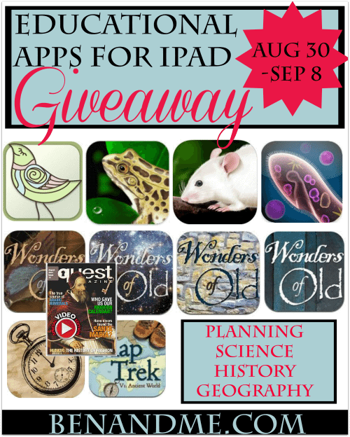 educational app for ipad giveaway