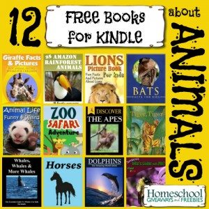 12 FREE Books for KINDLE about ANIMALS