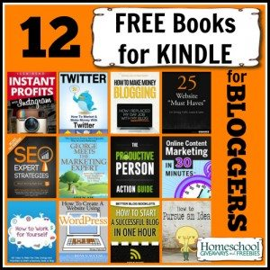 12 FREE Books for Kindle for Bloggers