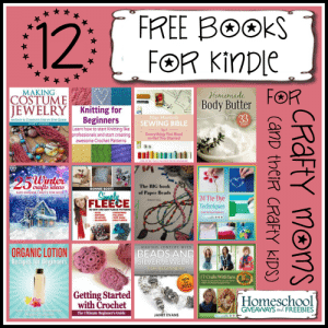 12 Free Books for Kindle for Crafty Moms and Kids