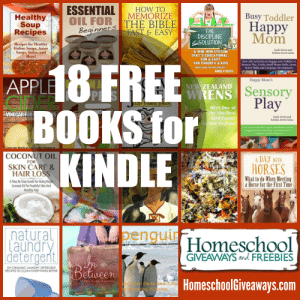 18 FREE BOOKS FOR KINDLE