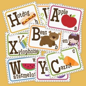 Alphabet Flashcard Free Printable