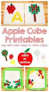 Apple-Cube-Printables