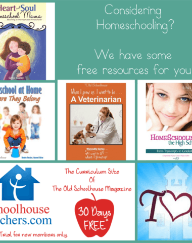 Considering Homeschooling Free Resources