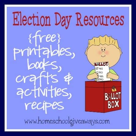 election day resources free printables activities books. Black Bedroom Furniture Sets. Home Design Ideas