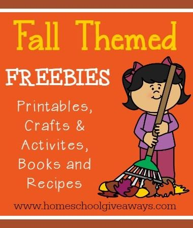 Fall Themed Resources including {free} printables, crafts & activities, books and recipes