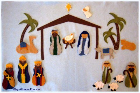 Felt-Nativity