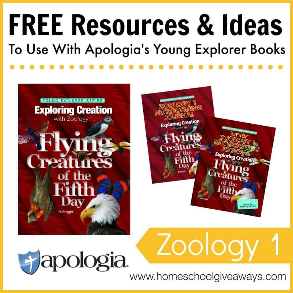 Free Resources and Ideas to Use with Apologia's Young Explorer Books - Zoology 1