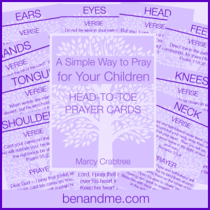 Head to Toe Prayer Cards