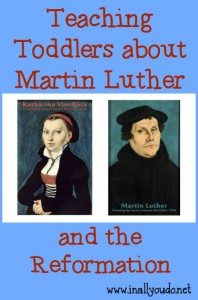 Martin Luther Toddlers