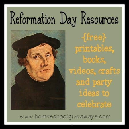 Reformation Day Colouring Pages
