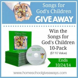 Songs for God's Children Giveaway (1)