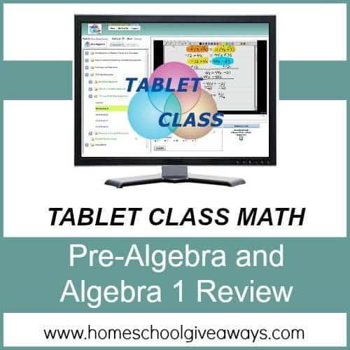 Tablet Class Math image