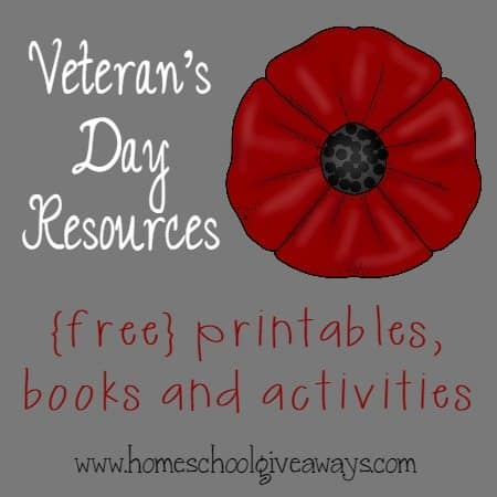 Veterans Day Resources Printables Books More