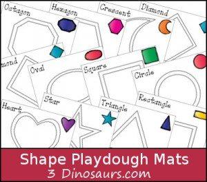shapeplaydoughmat