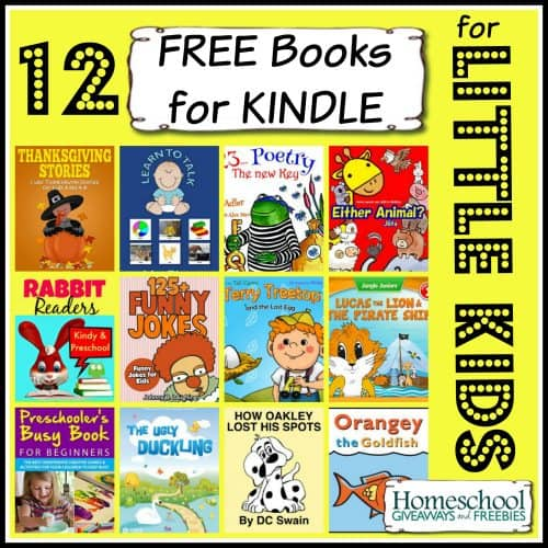 12 free books for kindle for little kids