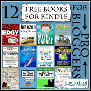 12 Free Books for Kindle for Pro Bloggers