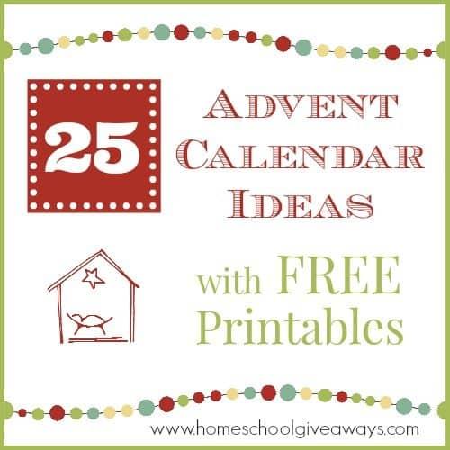Advent Calendar Ideas Printable | Calendar Template 2016