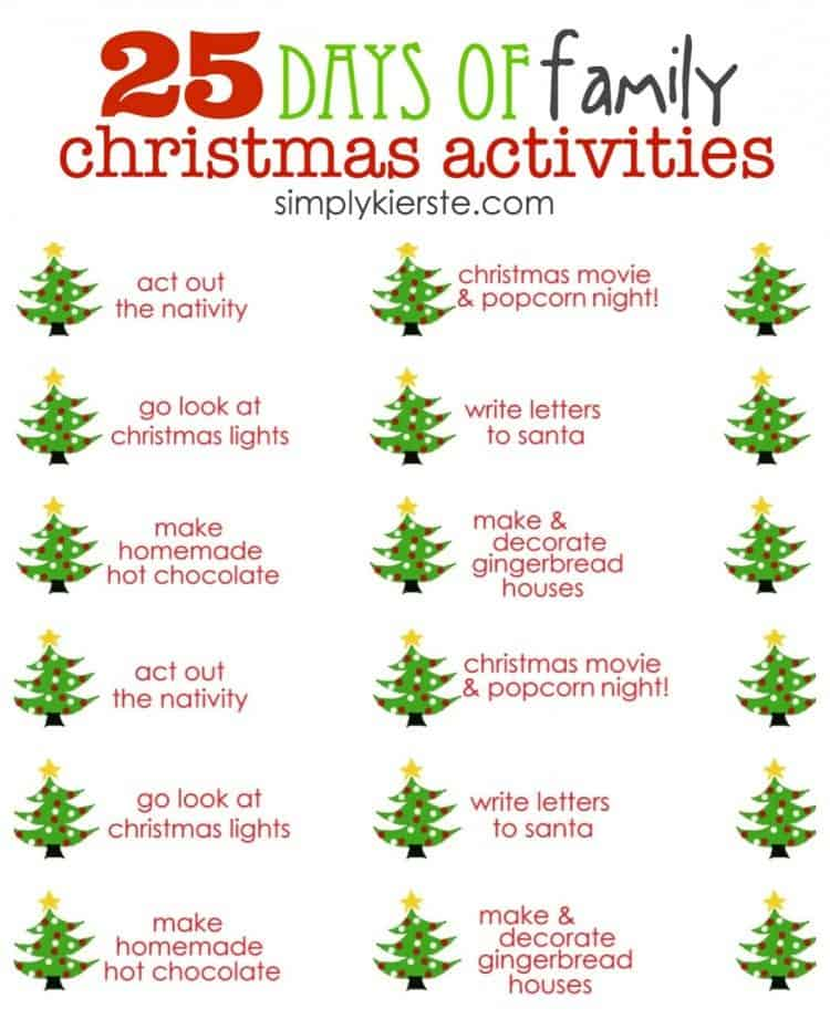 Countdown to Christmas with these fun activities to print and go ...