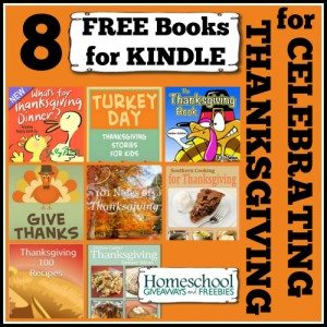 8 Free Books for Kindle for Celebrating Thanksgiving
