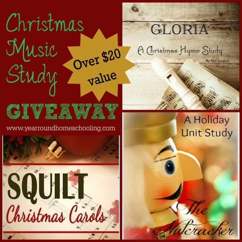 Christmas Music Studies GIVEAWAY - ENDS 11/24/14