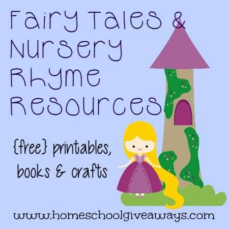 graphic about Printable Fairy Tales identified as Fairy Stories Nursery Rhymes freebies Products