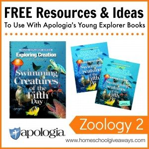 Free Resources and Ideas to Use with Apologia's Young Explorer Books - Zoology 2