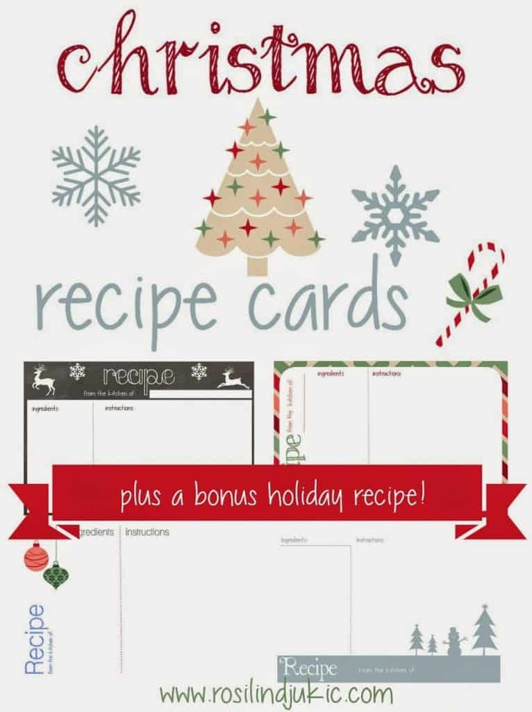Recipe Cards Cover Graphic
