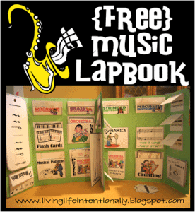 music lapbook