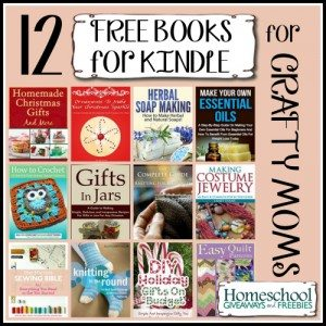 12 Free Books for Kindle for Crafty Moms