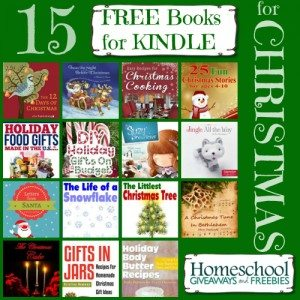 15 Free Books for Kindle for Christmas