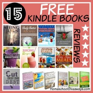 15 Free Kindle Books with 5-Star Reviews